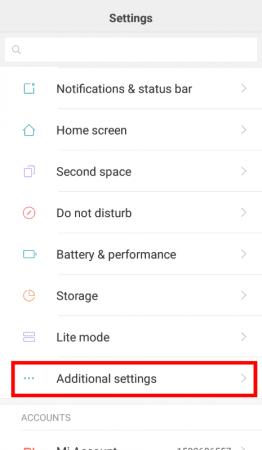 miui 8 settings