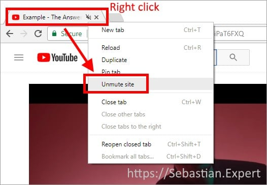 chrome-tab-unmute-site