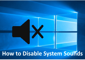 Disable System Sounds