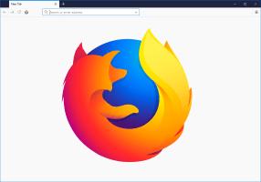 Firefox Empty Page Logo