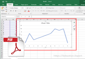 Saving Excel 2016 Graph As PDF File
