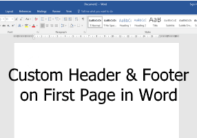 word-header-footer-first-page