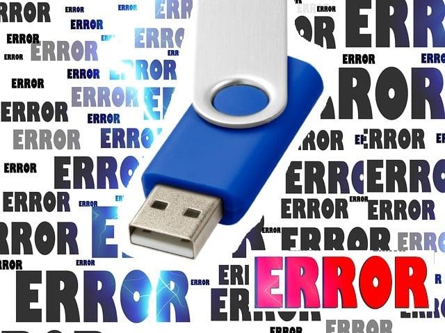 logo error usb